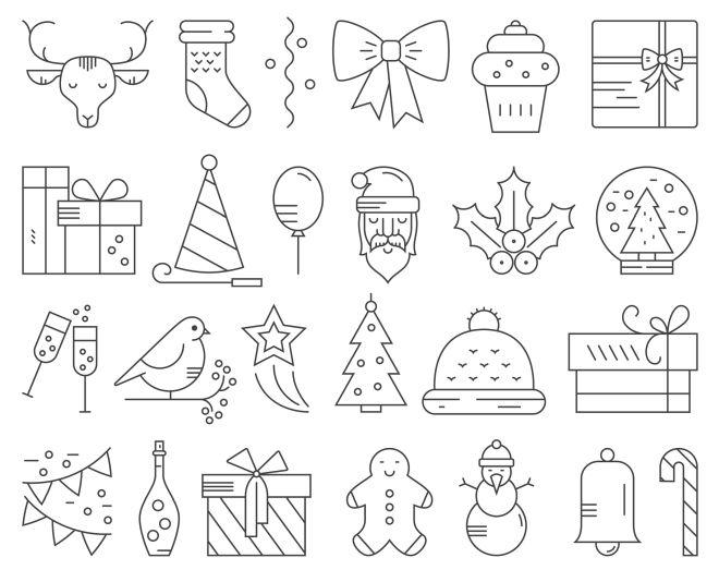 disegni-natale-per-decorazioni-feltro